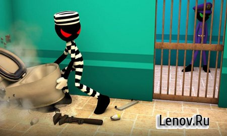 Stickman Escape Story 3D (обновлено v 2.1) (Mod Money)