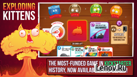 Exploding Kittens® - Official v 4.0.2 Мод (Unlocked)