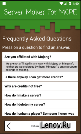 Server Maker For Minecraft PE (обновлено v 1.4.3)
