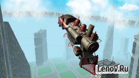 Flying Train Simulator 3D Free v 2