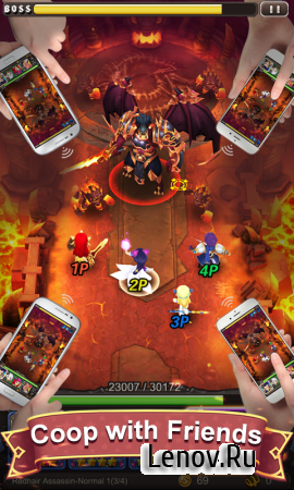 Hyper Heroes: Marble-Like RPG v 1.0.6.87520 Мод (Massive damage)