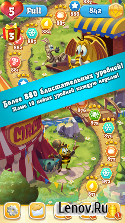 Bee Brilliant v 1.84.1 (Mod Money/Energy/Ads-Free & More)