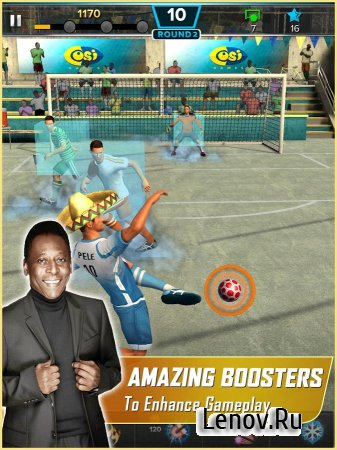 Pelé: Soccer Legend (обновлено v 1.4.1) Мод (Unlimited Cash & More)