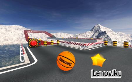 BasketRoll 3D: Rolling Ball (обновлено v 1.5.5) (Mod Money)