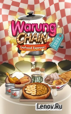 Warung Chain: Go Food Express (обновлено v 1.0.11) Мод (Unlimited Coins & More)