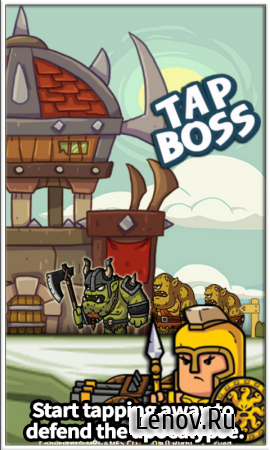 Tap Boss (обновлено v 1.2.5) (Full) (Mod Money)