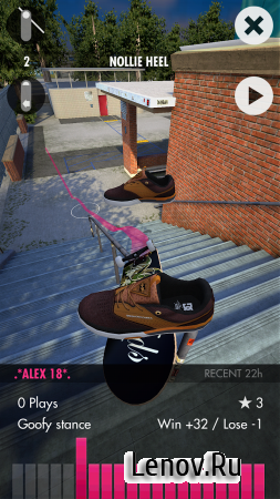 Skater (обновлено v 1.6.0.3) (Full) (Mod Money/Unlocked)