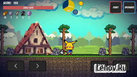 Pixel Survival Game (обновлено v 2.23) (Mod Money)