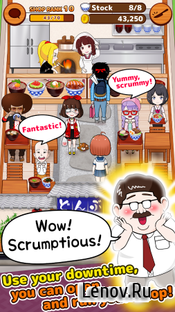 My Cafe Story3 -DONBURI SHOP- v 6 Мод (Unlimited Money)