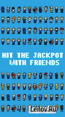 Hit The JACKPOT: Idle Game (обновлено v 2.1.0) Мод (Coins Increase Instead Of Decrease & More)