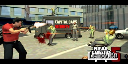 Real Gangster 5 v 1.0.0.8 Мод (Unlimited Ammo/Life)