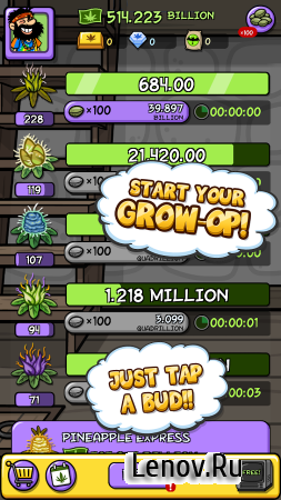 Pot Farm: High Profits v 120.3.2 (Mod Money)