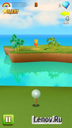 Golf Island (обновлено v 1.2) (Mod Gems)