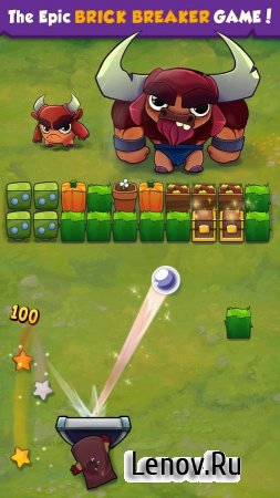 Brick Breaker Hero v 1.41 (Mod Gems/Lives)