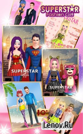 Superstar Fashion Girl v 1.1.0 Мод (Cheat menu & More)