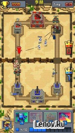 Royale Clans – Clash of Wars (обновлено v 4.68) Мод (много денег)