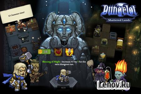 Dungelot Shattered Lands (обновлено v 1.373) (Full) (Mod Money)