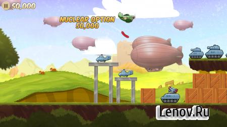 Sausage Bomber (обновлено v 1.1) (Full) (Mod Money/Atomic Bombs/Unlocked)