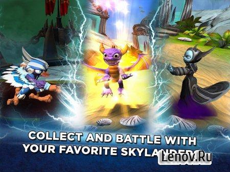 Skylanders Battlecast (обновлено v 1.4.1187) (Mod Turns)