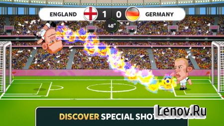 EURO 2016 Head Soccer (обновлено v 1.0.5) (Mod Money)