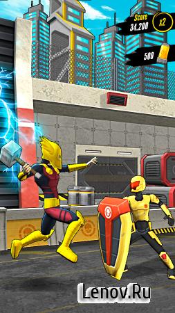 Action-Man Super Hero Rush Run (обновлено v 1.0.2) Мод (Spins & More)