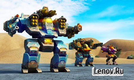 Mech Robot War 2050 v 1.4 (Mod Money)