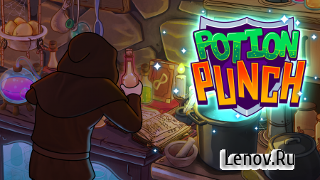 Potion Punch v 6.3 Мод (Unlimited gold coins/diamonds)