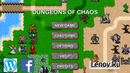 Dungeons of Chaos v 2.4.100 (Mod Money)