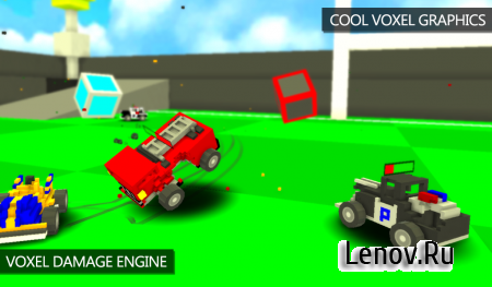 Blocky Demolition Derby v 1.50 (Mod Money)