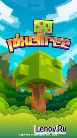 Pixel Tree v 1.5.0 Мод (Infinite pixels/diamonds)