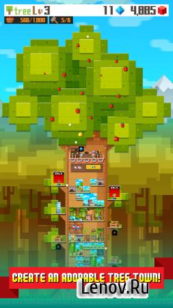 Pixel Tree v 1.5.0 Мод (Infinite pixels/diamonds)
