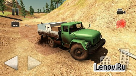Truck Driver Crazy Road 2 v 1.21 Мод (много денег)