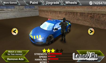 Police Agent vs Mafia Driver v 1.10 Мод (много денег)