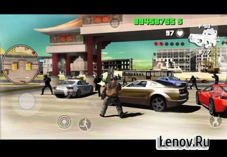 Yakuza Mad City Crime (обновлено v 1.06) (Mod Money)