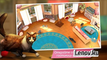 CatHotel - Hotel for cute cats (обновлено v 2.0.19255) (Mod Money)