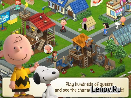Snoopy's Town Tale - City Building Simulator v 3.7.1 (Mod Money)