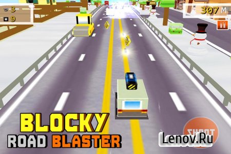 Blocky Road Blaster - Wild Race v 1.0.1 (Mod Money)