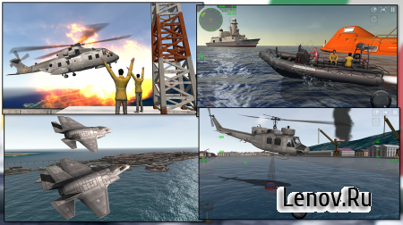 Marina Militare It Navy Sim v 1.3.1 Мод (Unlocked)