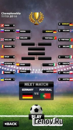 Euro 2016 Soccer Flick v 1.0 Мод (ads-free)