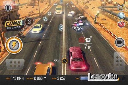 Road Racing: Highway Traffic & Furious Driver 3D (обновлено v 1.03) Мод (много денег)