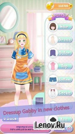 Gabby's Diary 2 love & dressup v 1.2.3 (Mod Money)