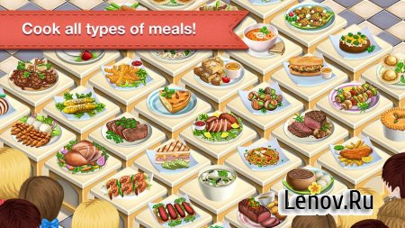 Restaurant Dreams: Chef World v 4.4.3 (Mod Money)