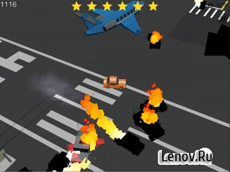 Crazy Racing: Cops Smasher v 1.1 (Mod Money)