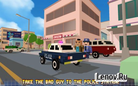 Blocky City: Ultimate Police v 1.4 Мод (много денег)
