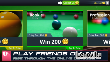 Snooker Stars v 4.1 Мод (Infinite Energy & More)