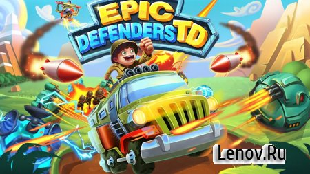 Epic Defenders TD (обновлено v 2.0.3035) Мод (Free Shopping)