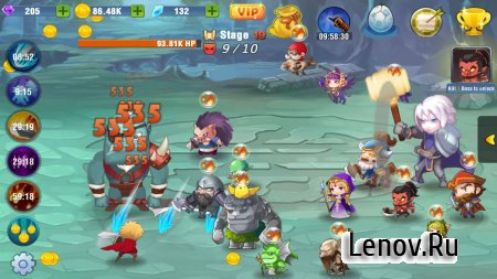 Tap Legends v 1.5 Мод (All Currency/VIP/No Ads)