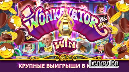 Willy Wonka Slots Free Casino v 108.0.980 Мод (Multiplier Set to 100)