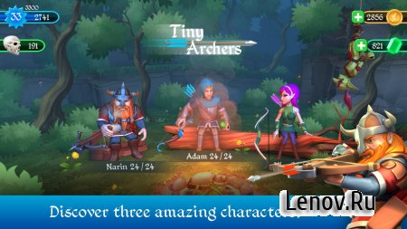 Tiny Archers v 1.33.05.0 (Mod Money)