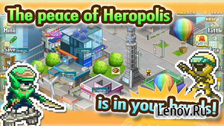 Legends of Heropolis v 2.1.2 Мод (Friend Points/Money/Research Points/Medals)
